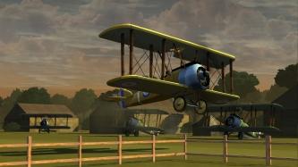Takeoff Cutscene